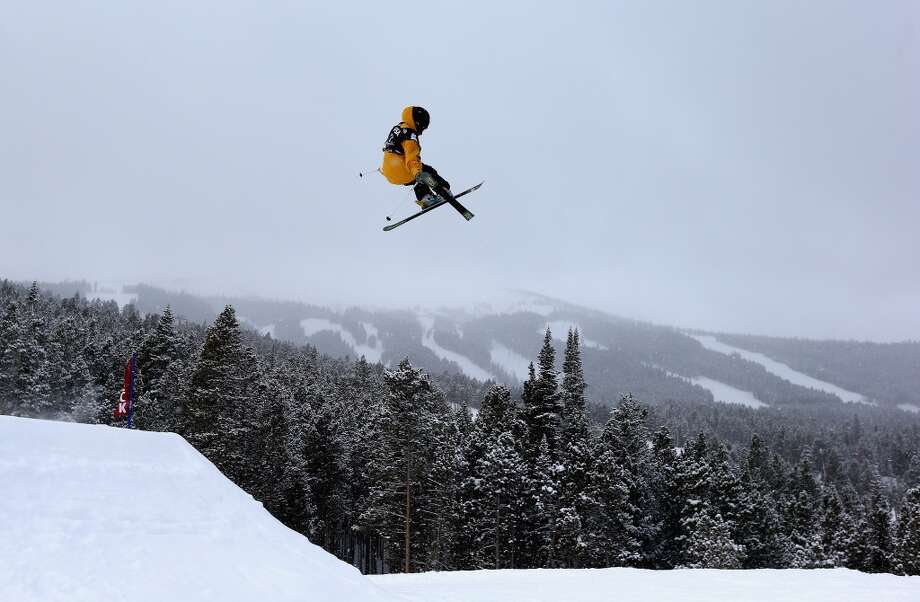 Christian Bieri of Switzerland competes in the men's ski slopestyle qualification during day one of the U.S. Snowboarding and Freeskiing Grand Prix Breckenridge on Jan. 8, 2014 in Breckenridge, Colo. Photo: Streeter Lecka, Getty Images