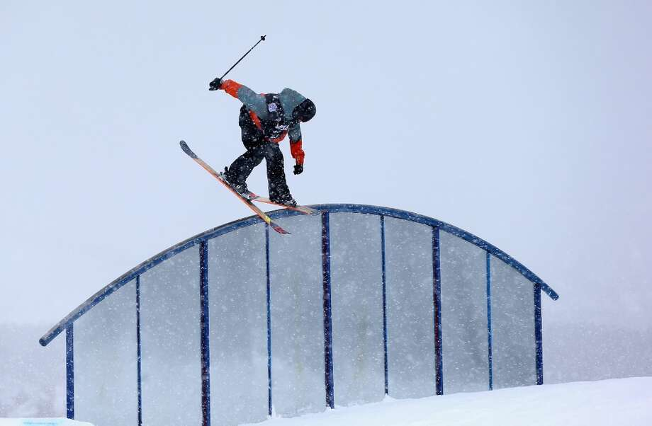 Evan McEachran of Canada competes in the men's ski slopestyle qualification during day one of the U.S. Snowboarding and Freeskiing Grand Prix Breckenridge on Jan. 8, 2014 in Breckenridge, Colo. Photo: Streeter Lecka, Getty Images
