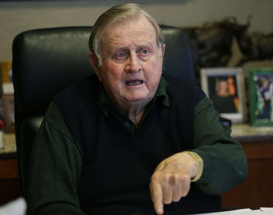 Red McCombs talks about his recent comments on the new Longhorn Football Coach Charlie Strong. Thursday, Jan. 9, 2013. Photo: San Antonio Express-News