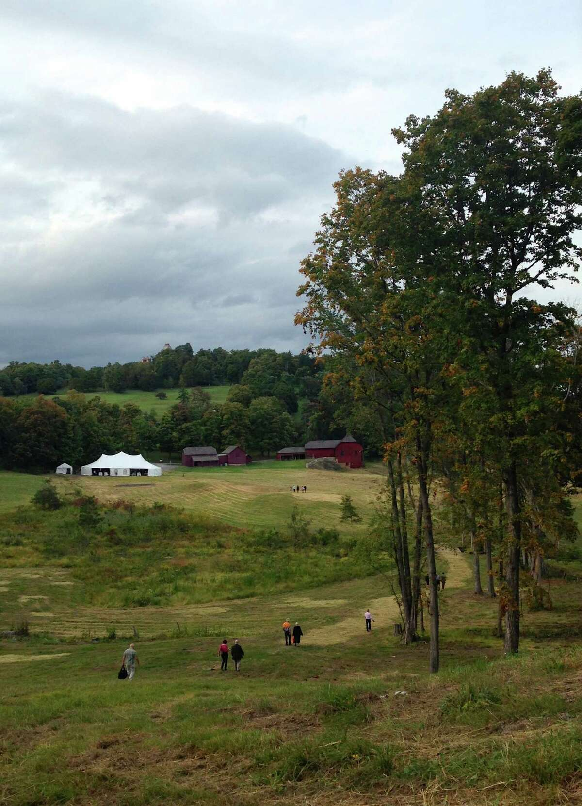 View from Crown Hill during Olanafest 2013. (Photo by Stephanie Zhang)
