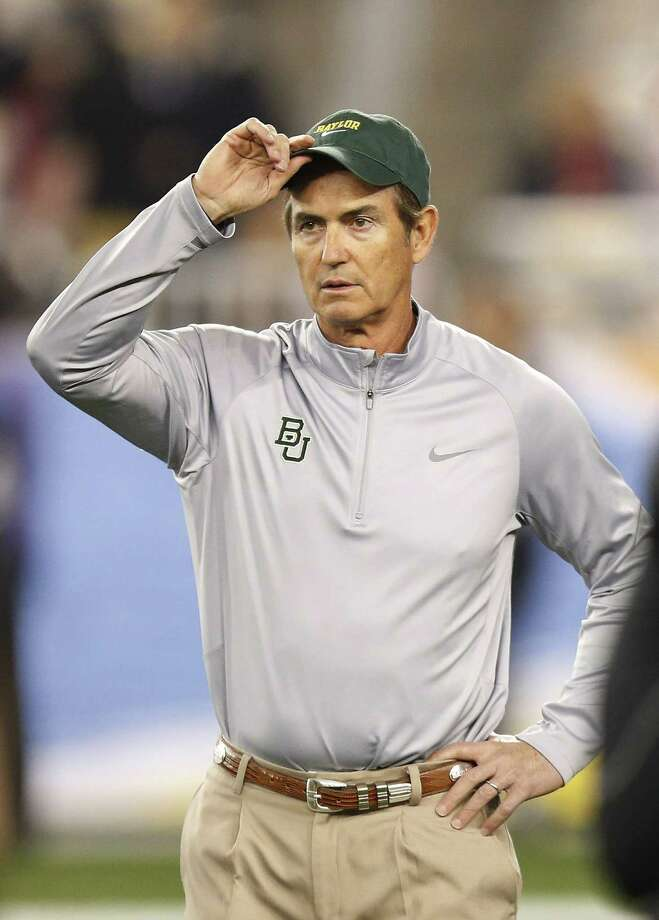 A reader defends Baylor head coach Art Briles, shown here prior to the Fiesta Bowl, against what he deemed unfair criticism in an Express-News sports column. Photo: Ross D. Franklin / Associated Press / AP