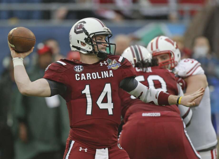 Connor Shaw  South Carolina  Senior  6-1, 210 pounds  Career stats: 6,074 yards passing, 56 TD, 16 INT, 65.5 completion percentage, 1,683 yards rushing, 17 TD  South Carolina will miss his accuracy. He threw just one interception in his senior season for the Gamecocks and completed more than 60 percent of his passes in four college seasons. Photo: John Raoux, Associated Press