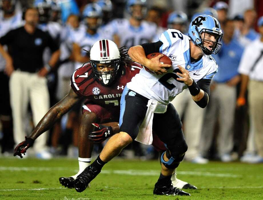 Bryn Renner   North Carolina  Redshirt senior  6-3, 225 pounds  Career stats: 8,221 yards passing, 64 TD, 25 INT, 66.5 completion percentage Photo: Stephen Morton, Associated Press