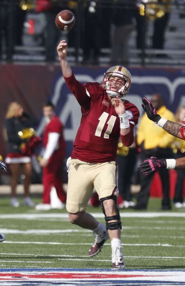 Chase Rettig   Boston College  Senior  6-3, 205 pounds  Career stats: 8,253 yards passing, 52 TD, 39 INT, 55.2 completion percentage Photo: Rogelio V. Solis, Associated Press