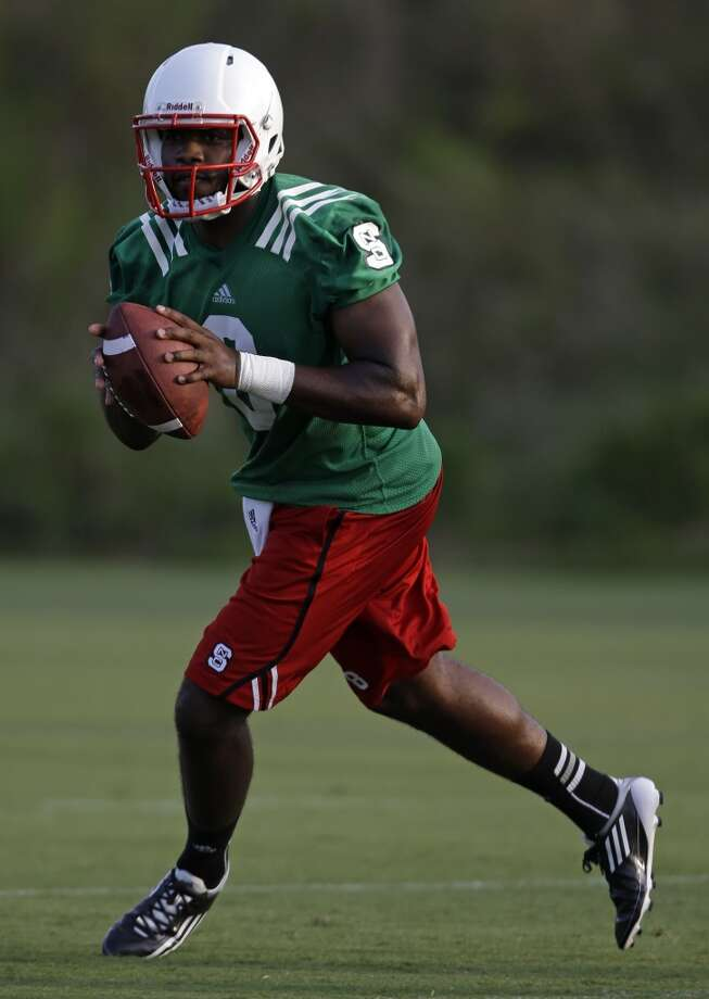 Brandon Mitchell   N.C. State  Redshirt senior  6-3, 240 pounds  Career stats: 1,011 yards passing, 7 TD, 6 INT, 57 completion percentage, 274 yards rushing, 2 TD in six games as a starter Photo: Gerry Broome, Associated Press