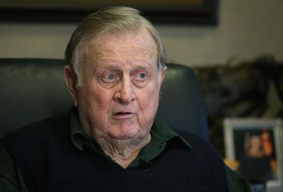 Red McCombs talks about his recent comments on the new Longhorn Football Coach Charlie Strong. Thursday, Jan. 9, 2013. Photo: BOB OWEN, San Antonio Express-News
