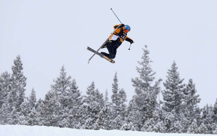 Luca Tribondeau of Austria competes in the men's ski slopestyle qualification during day one of the U.S. Snowboarding and Freeskiing Grand Prix Breckenridge on Jan. 8, 2014 in Breckenridge, Colo. Photo: Streeter Lecka, Getty Images