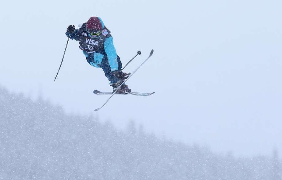 Saimon Fujita of Japan competes in the men's ski slopestyle qualification during day one of the U.S. Snowboarding and Freeskiing Grand Prix Breckenridge on January 8, 2014 in Breckenridge, Colorado. Photo: Streeter Lecka, Getty Images