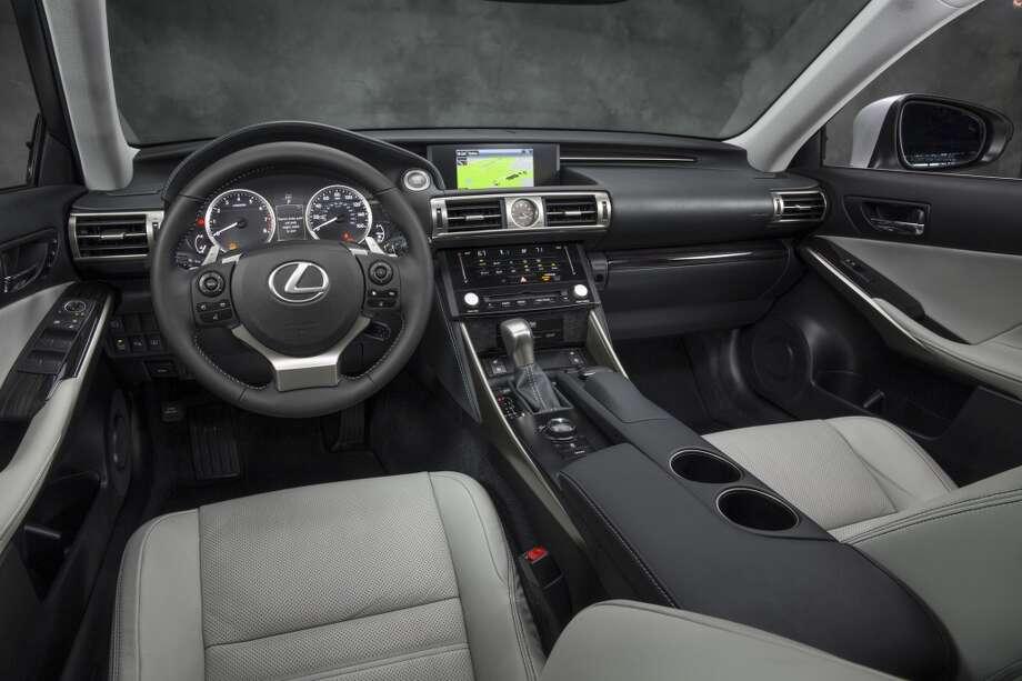 4. Lexus ISMSRP: Starting at $36,100 Photo: Lexus