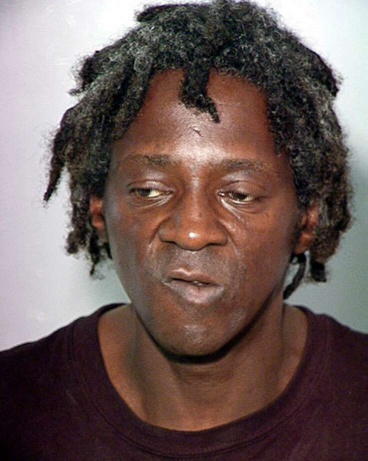 Flavor Flav, whose real name is William Jonathan Drayton Jr. New York State police say rapper and Rock and Roll Hall of Famer was ticketed for speeding and driving without a license while en route to his mother's funeral in suburban New York, Thursday, Jan. 9, 2014.  Photo: Associated Press / Las Vegas Police Department