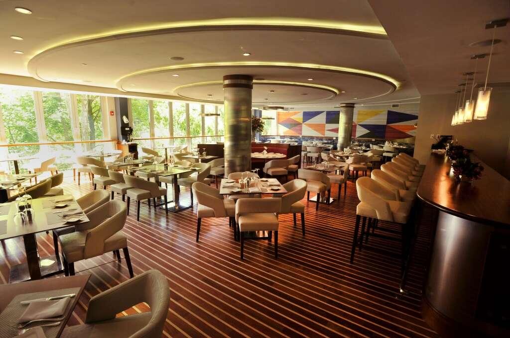 The Interior Of Restaurant Mediterraneo Is Seen Inside Hotel Zero Degrees In Norwalk On Tuesday