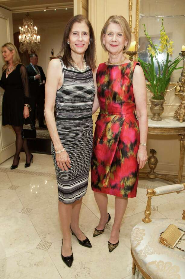 Rada Brooks and Kate Coffino at the 2014 San Francisco Ballet Gala Benefactors pre-party on January 8, 2014. Photo: Drew Altizer Photography