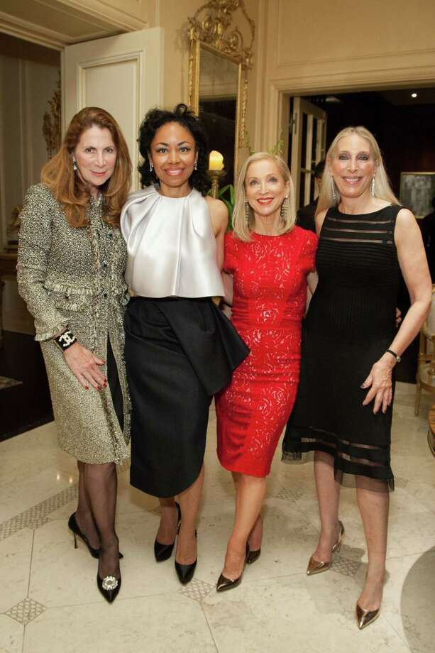 Patriia Ferrin, Tanya Powell, Shelley Gordon and Betsy Gordon at the 2014 San Francisco Ballet Gala Benefactors pre-party on January 8, 2014. Photo: Drew Altizer Photography