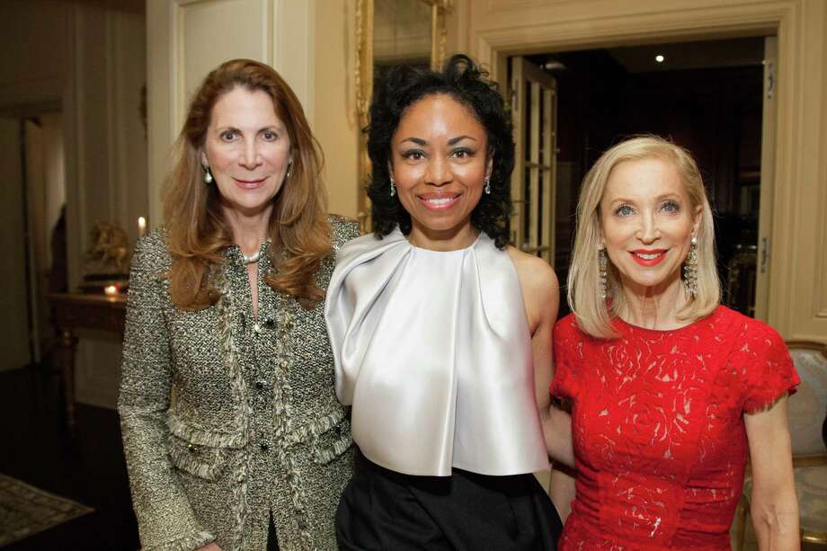 Patricia Ferrin, Tanya Powell and Shelley Gordon at the 2014 San Francisco Ballet Gala Benefactors pre-party on January 8, 2014. Photo: Drew Altizer Photography