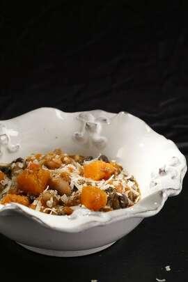 Butternut Squash & Bean Stew; styling by Lynne Char Bennett