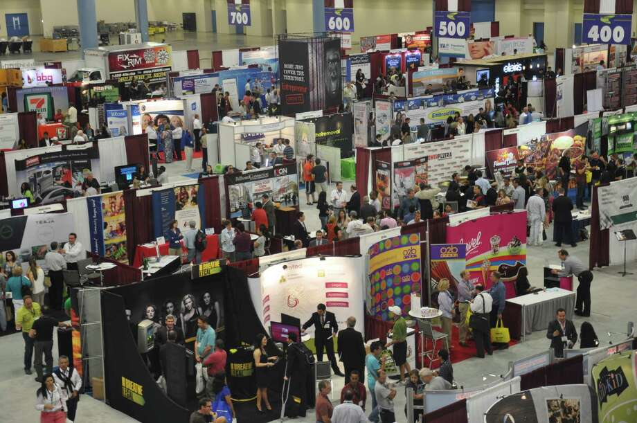 The Franchise Expo South is moving to Houston in 2014 from Miami. There were 10,096 visitors at last year's event and 170 exhibitors at the 2013 event, shown here.