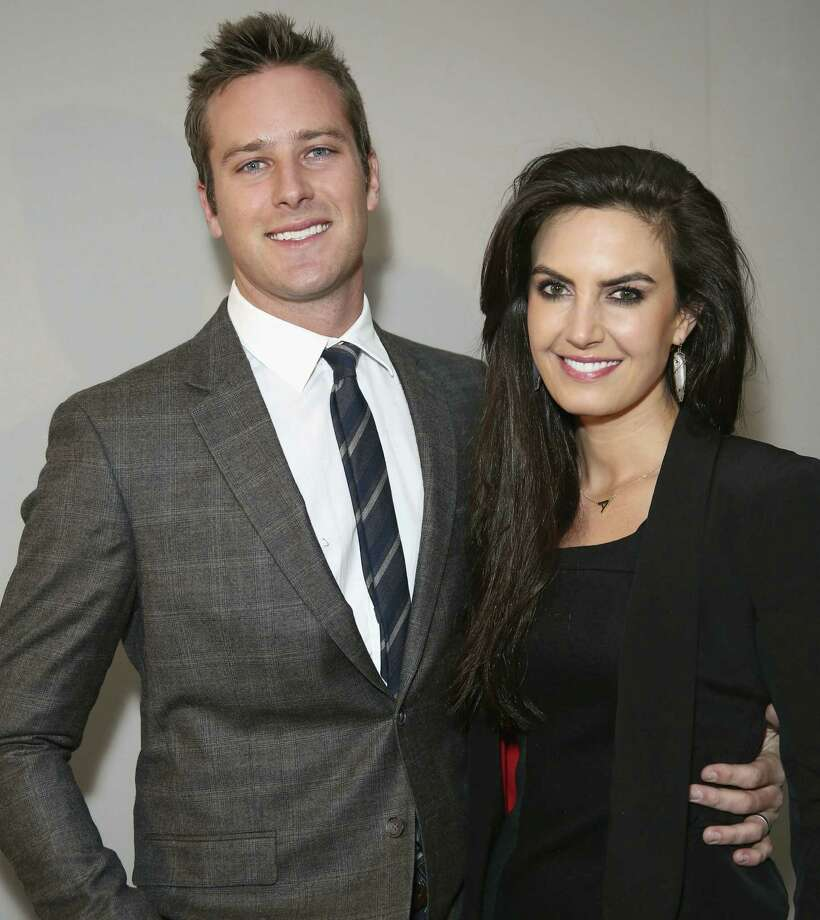 Armie Hammer and Elizabeth Chambers have a favorite recipe for brownies. Photo: Getty Images / 2013 Getty Images