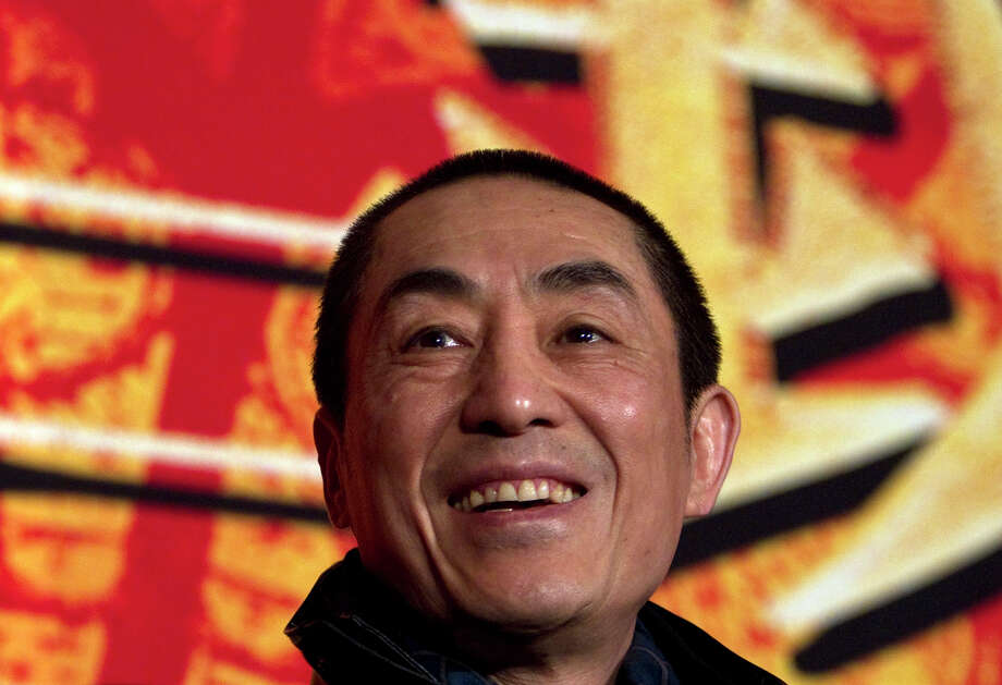 Chinese director Zhang Yimou, known for his ornate dramas, has been fined $1.24 million for violating family planning policies by having three children.  Photo: Alexander F. Yuan, STF / AP