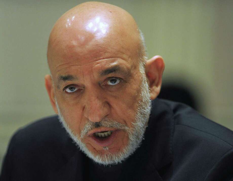 Afghan President Hamid Karzai continues to avoid signing a long-term security agreement with the United States. Photo: Findlay Kember / New York Times / POOL