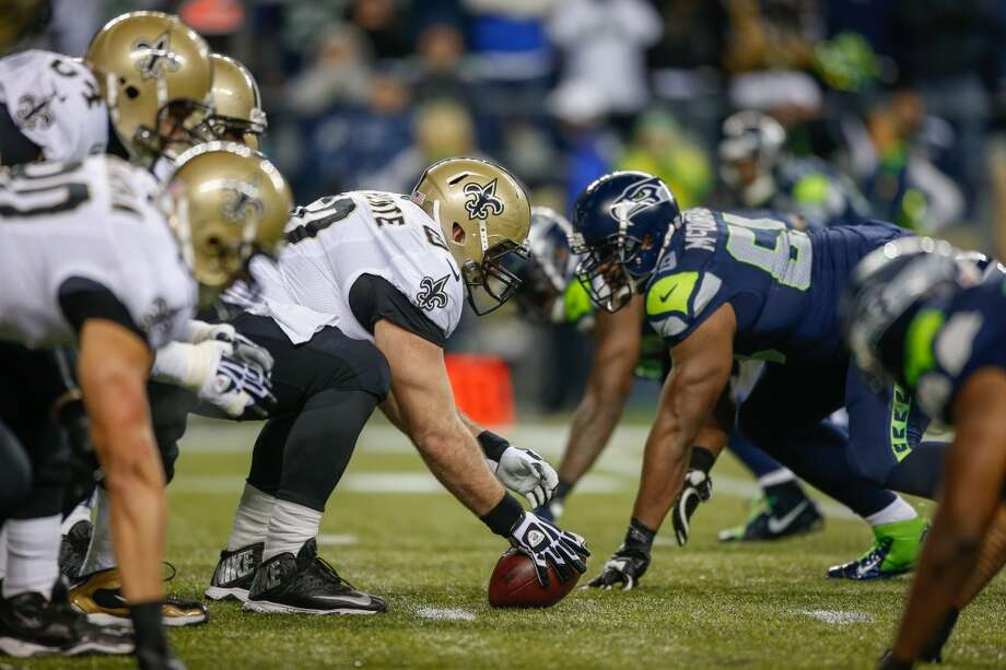 Five things to watch: No. 6 New Orleans Saints at No. 1 Seattle SeahawksSaturday, Jan. 11 | 1:35 p.m. PST | CenturyLink Field | TV: FoxIt's finally here.After the most anticipated season in Seattle Seahawks history, it's finally time for the team to begin its run to the Super Bowl. They accomplished everything they could during the regular season – 13 wins, a division title, first-round bye and home-field advantage throughout the playoffs. Now, the Hawks will put it all on the line against the New Orleans Saints in their NFC divisional round playoff game Saturday in adverse conditions at CenturyLink Field.This team is already considered by many to be the best in franchise history. Now the Hawks have to prove it on the field. Could this weekend's contest mark the beginning of the squad's bid for glory, or might it simply bring more heartache for Seattle sports fans? Click through the gallery to see what we'll be watching in the Hawks' huge playoff matchup. Photo: Otto Greule Jr, Getty Images