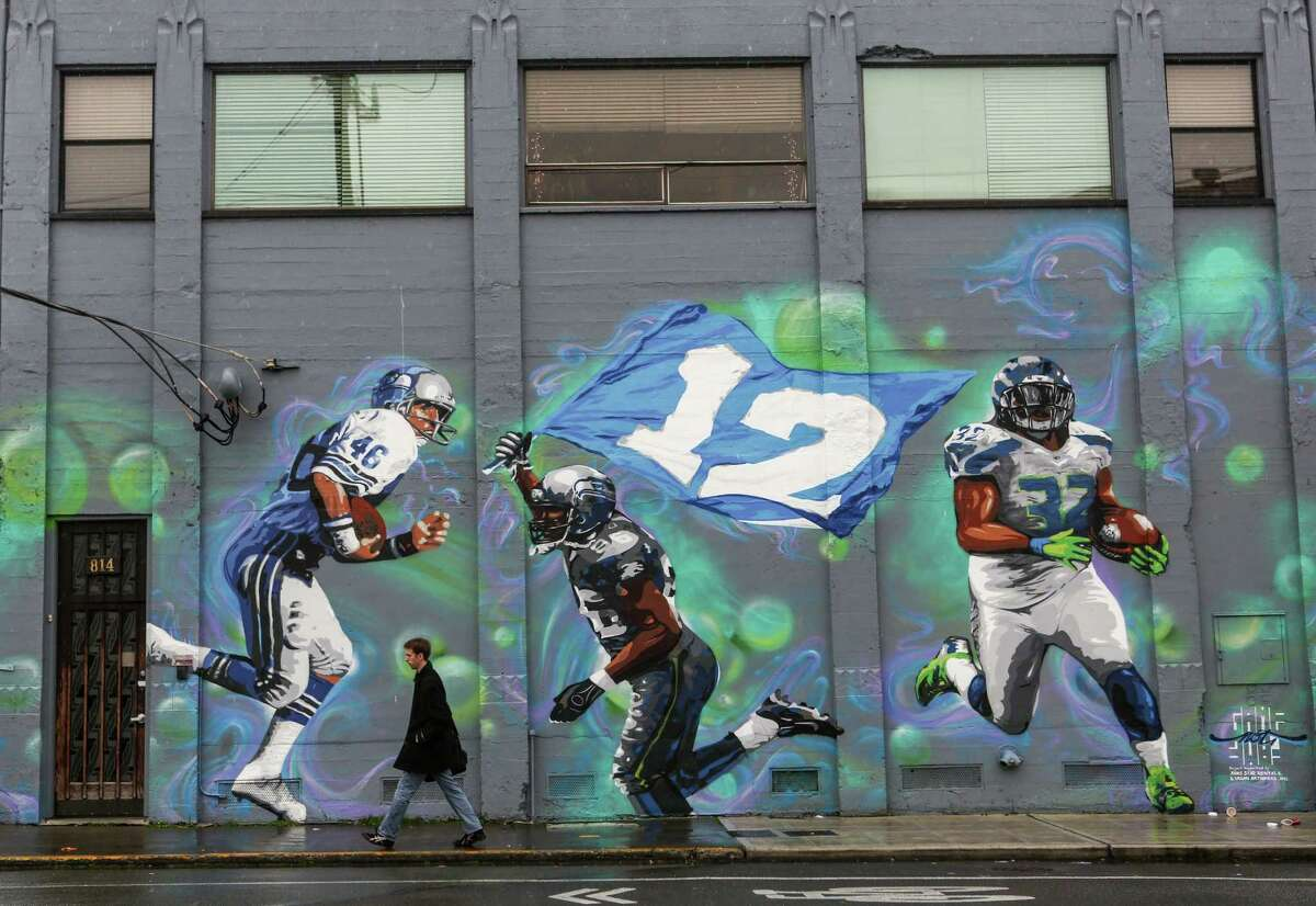 A mural is shown on a building in Sodo on Thursday, January 9, 2014.