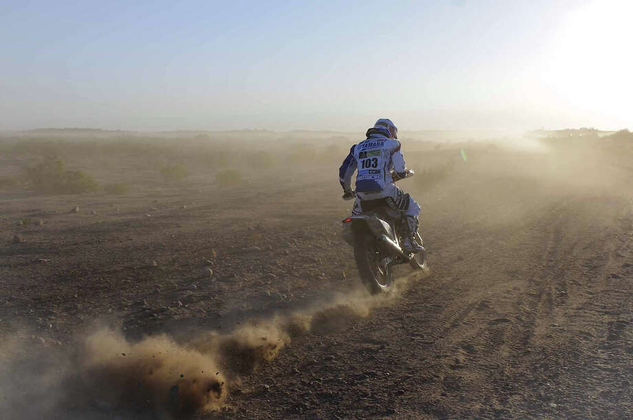 Stage 5 of the 2014 Dakar Rally between Chilecito and San Miguel de Tucuman, Argentina, on January 9, 2014 Photo: VI-Images, VI-Images Via Getty Images / 2012 VI-Images