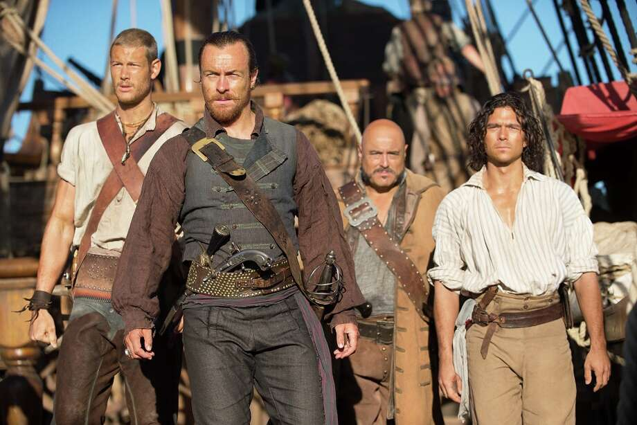 """Black Sails"" (8 p.m. Saturdays, Starz; Jan. 25): This swashbuckling pirate drama, set in 1715, comes from producer Michael Bay and stars Toby Stephens (""Downton Abbey""). Photo: Frank W Ockenfels 3, © 2014 Starz Entertainment, LLC / Black Sails © 2014 Starz Entertainment, LLC. All rights reserved"