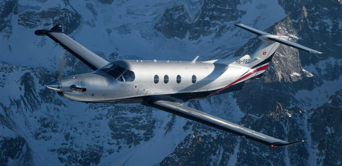 The Swiss-made Pilatus PC-12 NG is equipped with $1 million in high-tech surveillance cameras