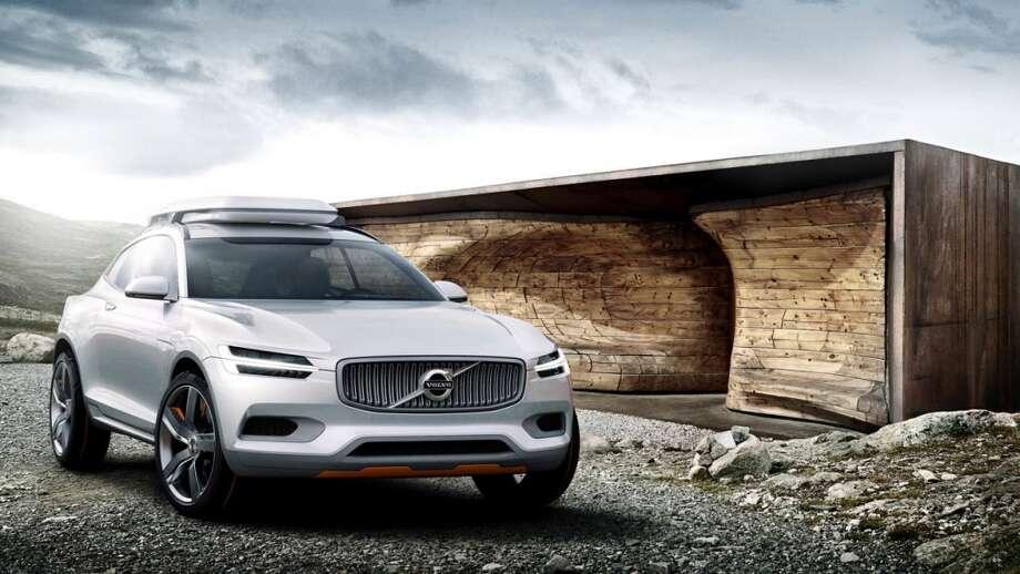 The new Volvo Concept XC Coupe. Photo: Volvo