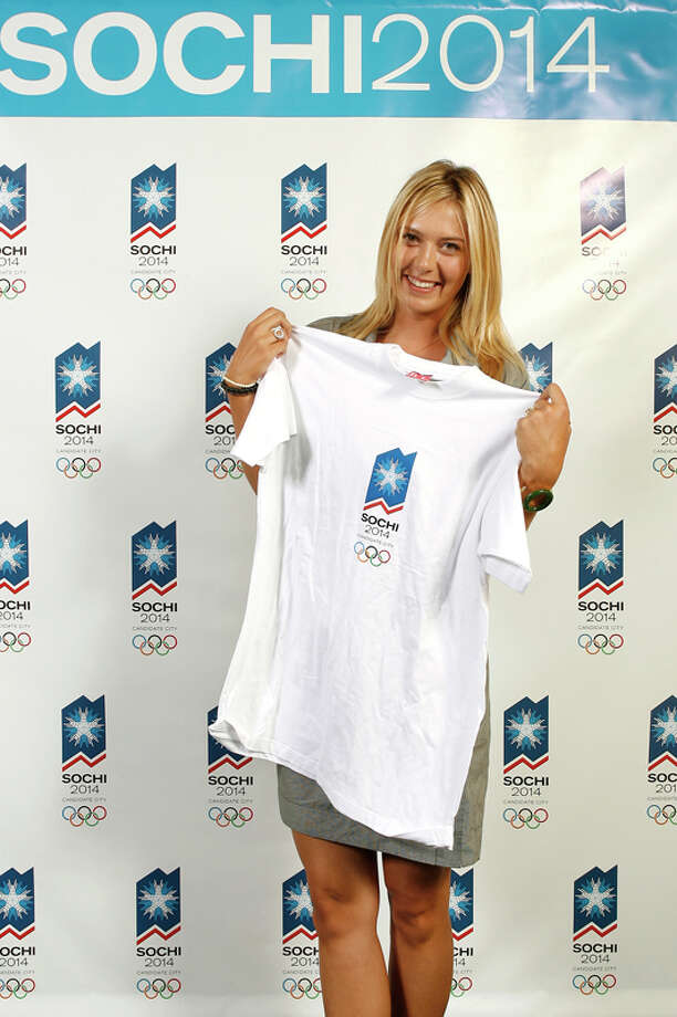 Maria Sharapova may not be a Greek god, but many tennis fans believe she is nothing short of a goddess. Sharapova did much of her early tennis training in Sochi as a young athlete.Related: 7 sports that were cut from the Winter OlympicsSources: Olympic.org, NBColympics.com, and The Embassy of the Russian Federation. Photo: Vince Bucci, Getty Images / 2007 Getty Images