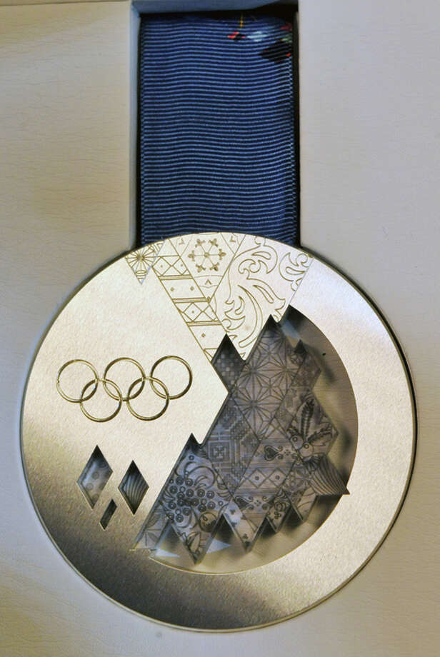 Each medal weighs between 460 and 531 grams and takes 18 hours to produce.Related: 7 sports that were cut from the Winter OlympicsSources: Olympic.org, NBColympics.com, and The Embassy of the Russian Federation. Photo: AFP, AFP/Getty Images / 2013 AFP