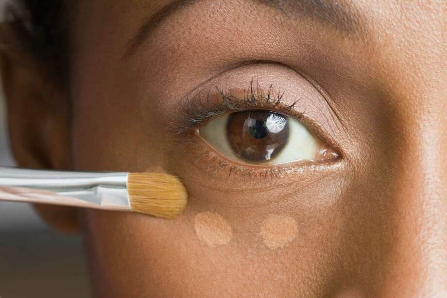 """More makeup tips from Andrea Pomerantz LustigFoundation:""""Don't pack it on. The minute you take off all that foundation you look younger. Put makeup on where you need it."""" Photo: Jose Luis Pelaez Inc, Getty Images/Blend Images / Blend Images"""