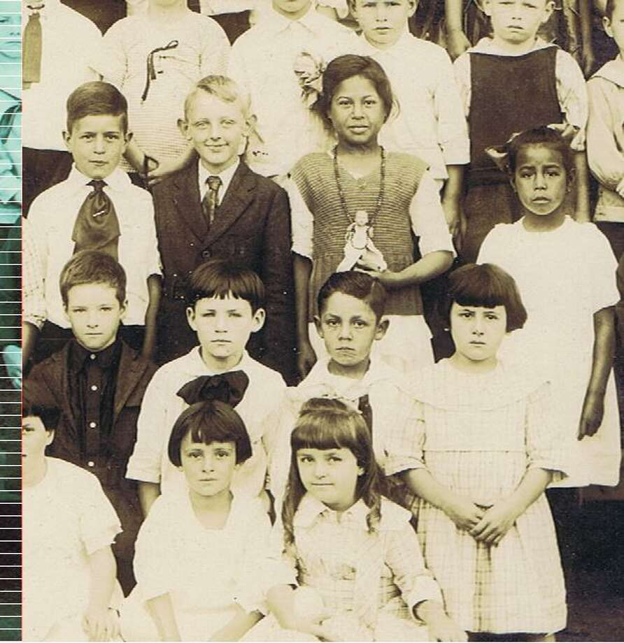 Detail from San Francisco school photo. From the collection of Bob Bragman