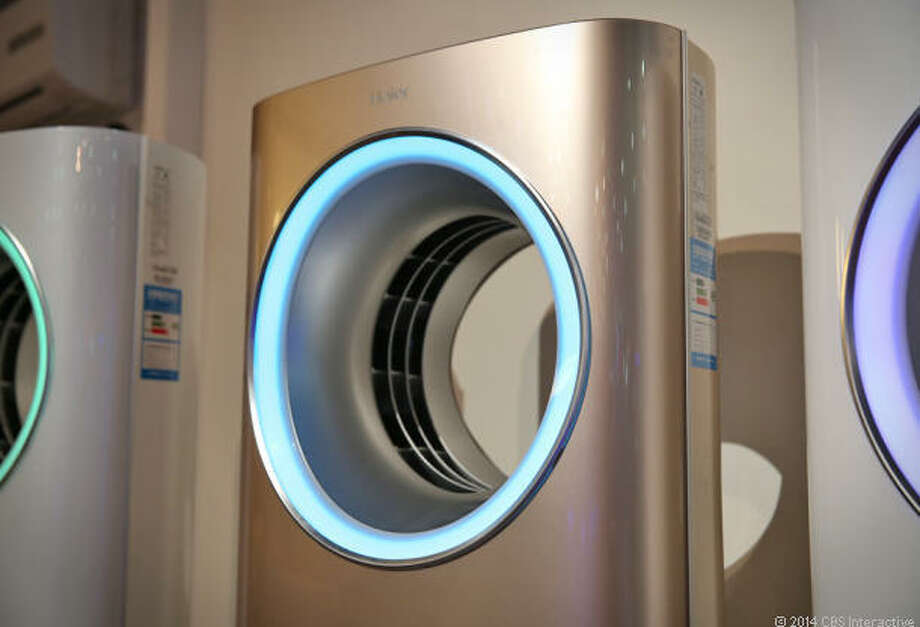 4) Haier Tianzun Smart Air Conditioner. Price TBA. Availability TBA.  It's summer and it's sweltering in your apartment, but you just blazed some heavy OG, Battlestar Galactica is on, and you are officially stuck to your sofa. Looks like the themostat can wait. The aptly-named consumer electronics company Haier intends to remedy that problem with the Tianzun smart air conditioner -- the first home appliance to be certified as compatible with Apple products. Now just pull out your iPhone or iPad, set the temperature, and enjoy another bong hit with the cool breeze. We'll have to wait indefinitely however, as a price and release date have not yet been announced.