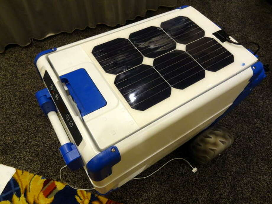 5) Solar Cooler. $1,200. Availability TBA.  It's always a good idea to pack munchies and beverages into a cooler for outdoor parties, but when the ice melts all you're left with is soggy food and warm beer. Enter the Solar Cooler -- a 50-pound beach fridge powered by solar panels that gets so cold it can even make its own ice. The cooler also features charging ports for mobile devices and a 10-hour battery. As awesome the Solar Cooler sounds, we might have to wait a while to pay a reasonable price, as early adopters will have to shell out a retail price around $1,200.