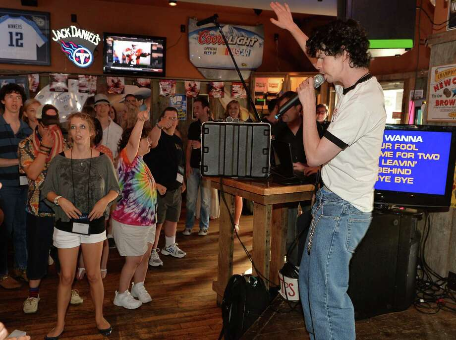 There is dispute about whether people should pick a song everyone knows or to pick something obscure and surprising. The safest way to go is to probably toe the line between those two camps. The better your vocal abilities and energy, the more you can get away with singing a more unknown-to-the masses song. Same goes for a super cliche pick. Photo: Rick Diamond, Seattlepi.com File Photo / 2013 Getty Images