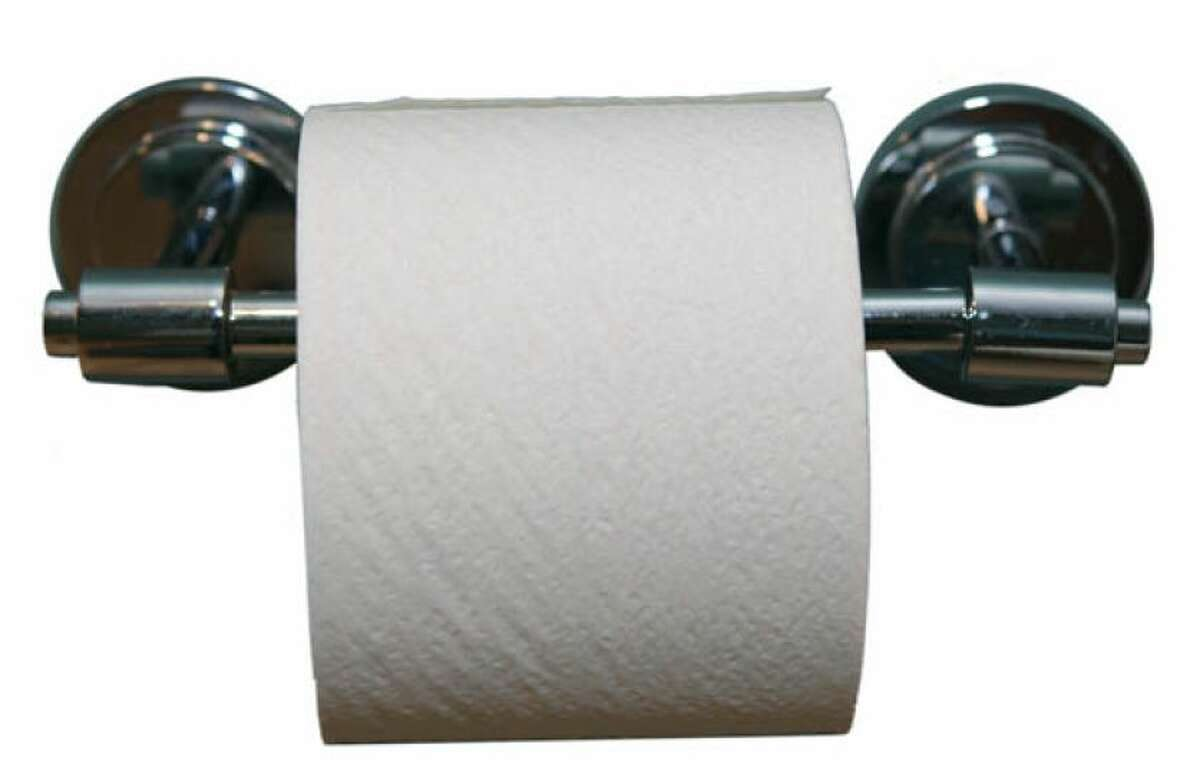They're right Three out of four people hang their toilet paper so that the flap comes over the top, not from the bottom.