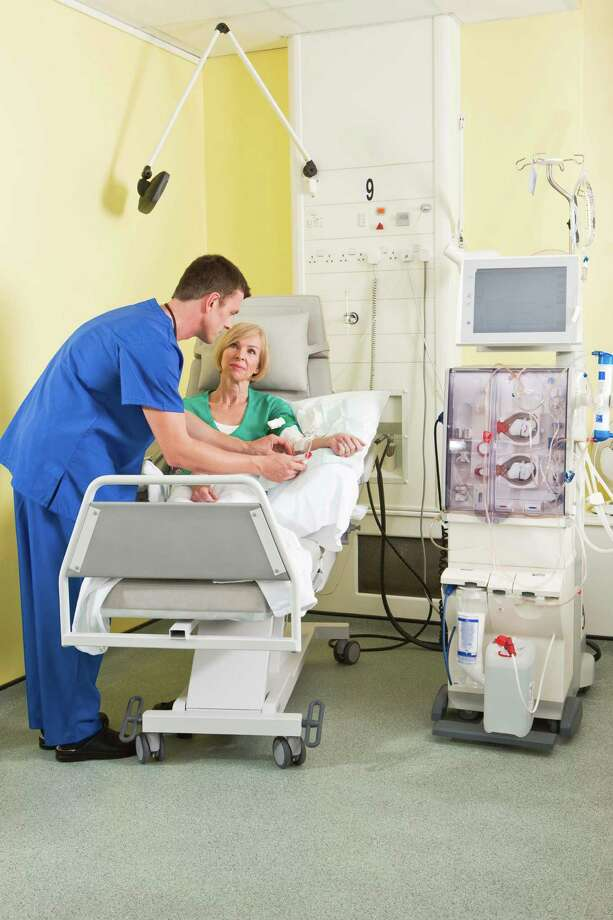 Dialysis patients must rely on a team of professionals during care. / Polka Dot RF