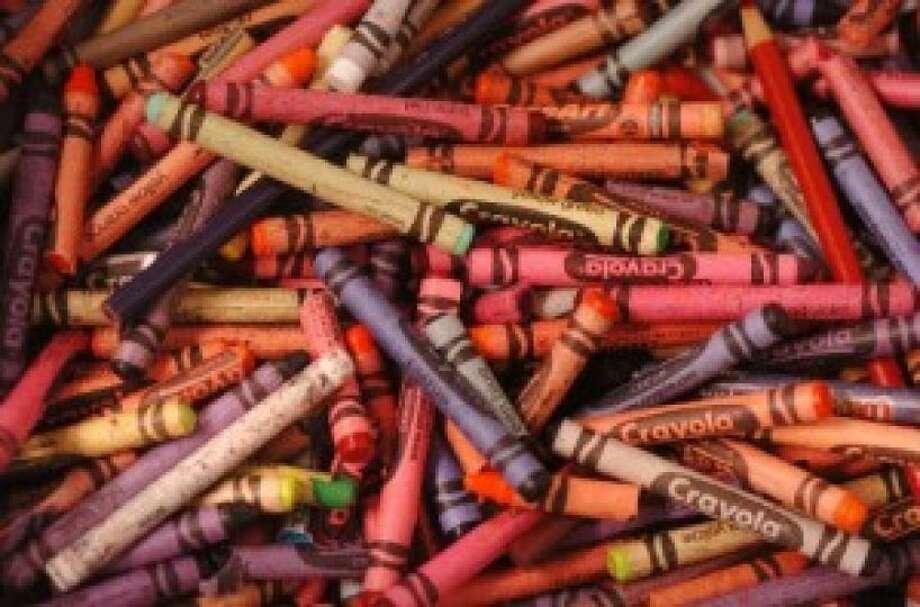 Crayons have been found in genitals.