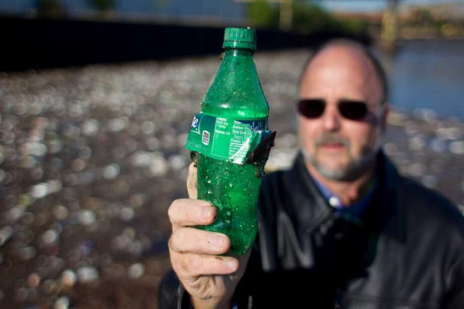 Plastic bottles have been found in rectums.