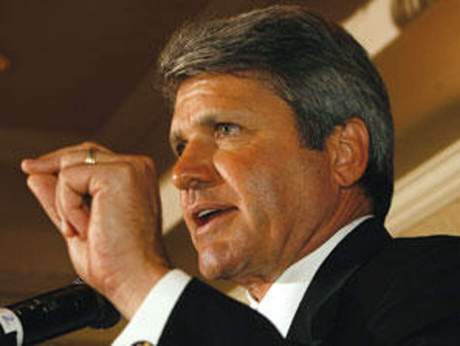 Rep. Michael McCaul (R) represents Texas' 10th District, including parts of Houston, and has a net worth between $102,547,780 and $183,760,040 (House Rank: 4) Photo: (Sarah Tung / Hearst Newspapers)