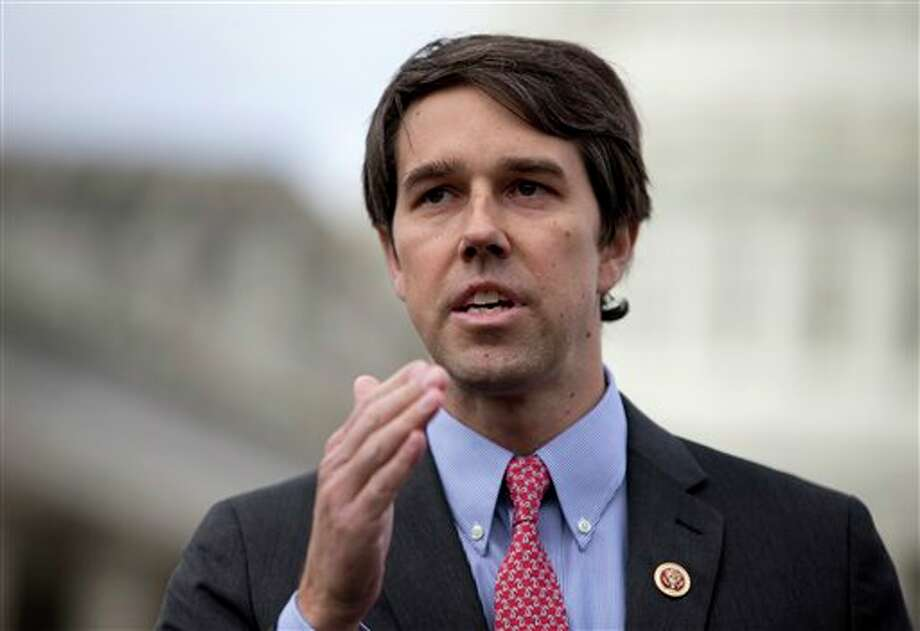 Rep. Beto O'Rourke (D) represents Texas' 16th District in the El Paso area and has a net worth between $-1,392,926 and $16,529,998. (House Rank: 51)Note: O'Rourke's potential negative net worth is due to liabilities between $1,200,003 and $5,500,000. Photo: Carolyn Kaster, AP / AP