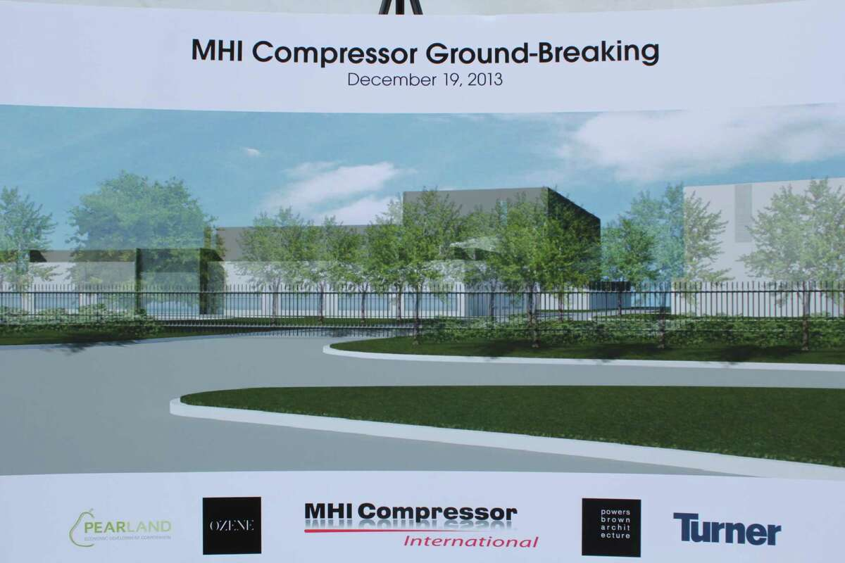 MHI Compressor Manufacturing Co. plans to build a facility in Pearland near Kirby Drive south of Beltway 8.