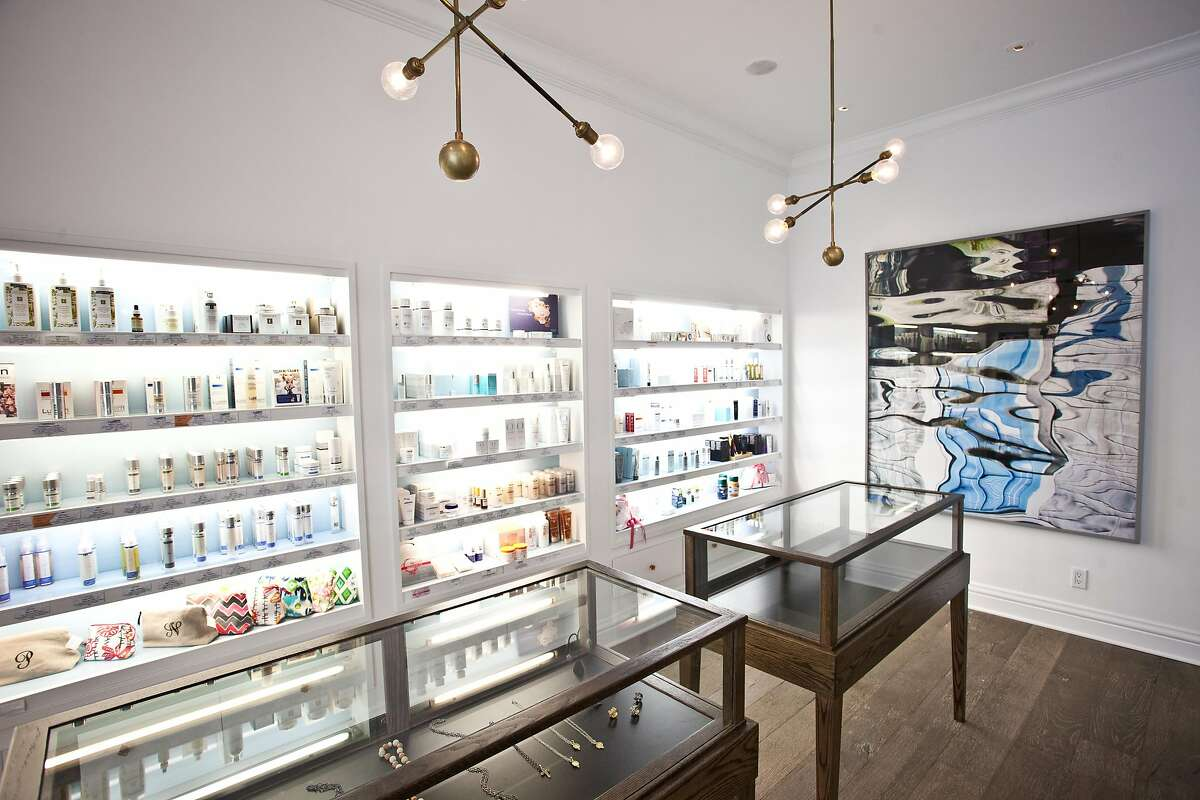 Spa Radiance was recently redone by interior designer Jay Jeffers, who turned the Cow Hollow into