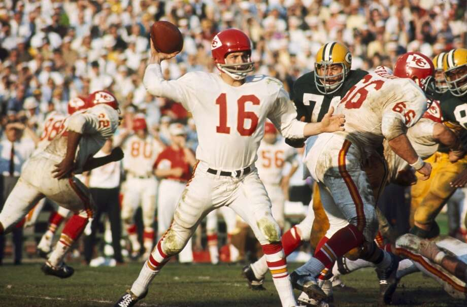 Len DawsonTeam: Kansas City ChiefsSuper Bowl Won: 4Overall Draft Pick: 5 (Round 1 - by Pittsburgh Steelers) Photo: James Flores, NFL