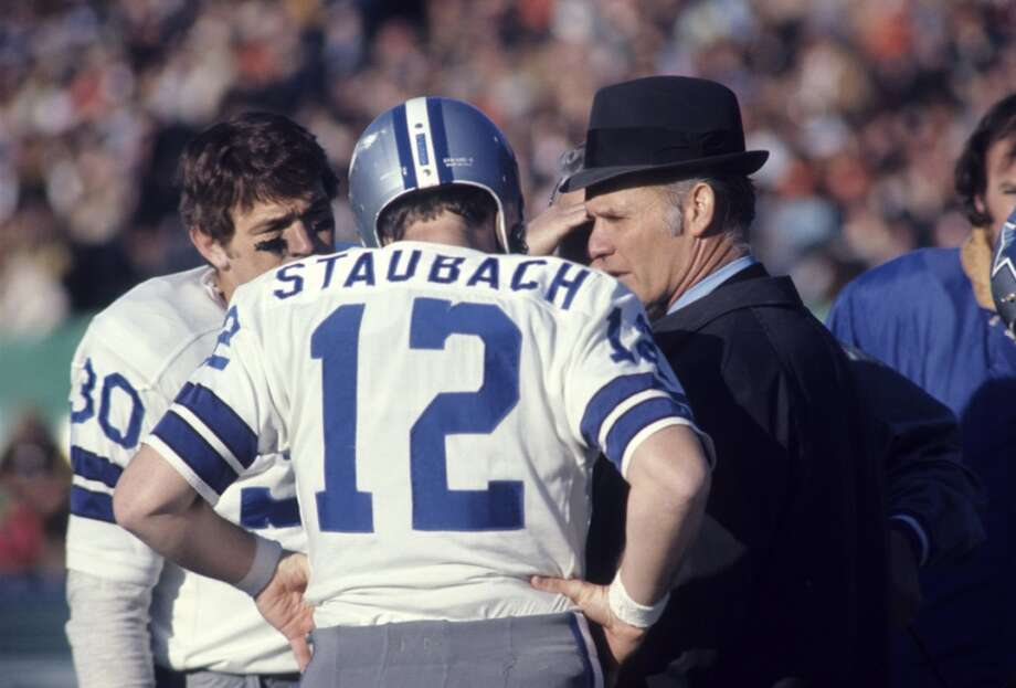 Roger StaubachTeam: Dallas CowboysSuper Bowls Won: 6,12 Overall Draft Pick: 129 (Round 10) Photo: Tony Tomsic, Getty Images