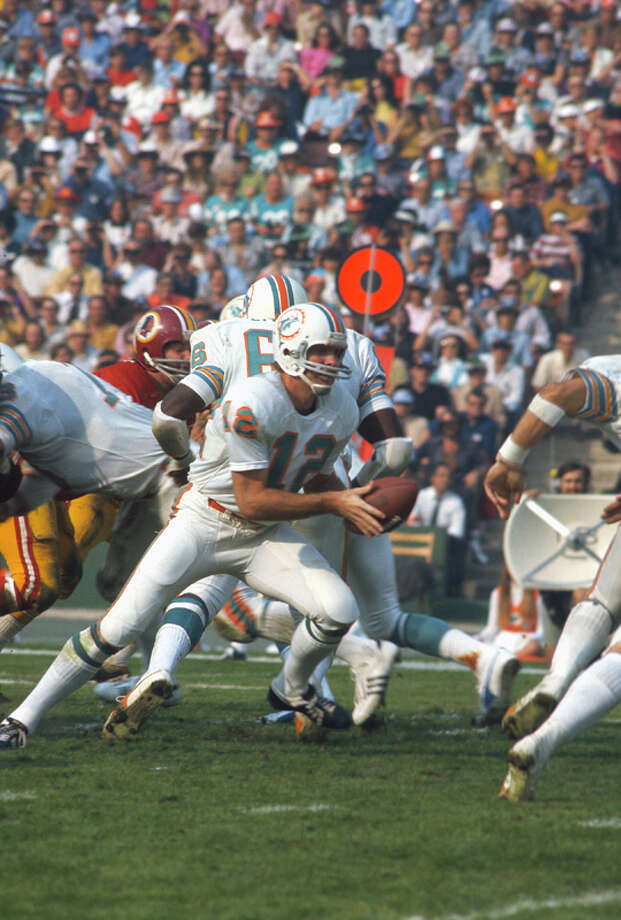 Bob GrieseTeam: Miami DolphinsSuper Bowls Won: 7, 8Overall Draft Pick: 4 (Round 1) Photo: Focus On Sport, Getty Images / 1973 Focus on Sport