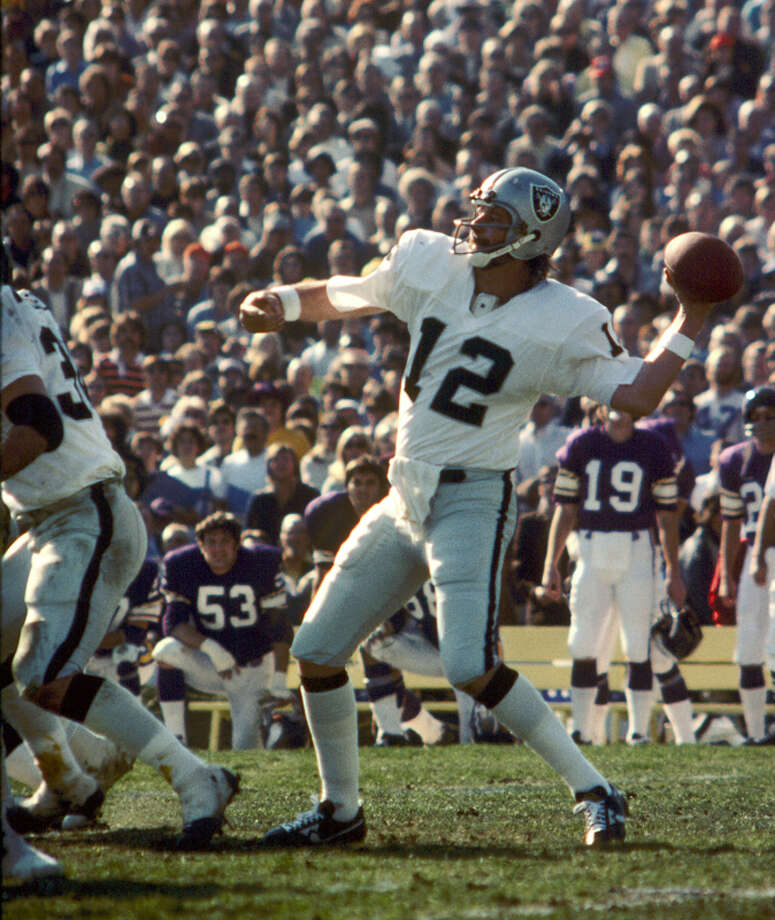 Ken Stabler Team: Oakland RaidersSuper Bowl Won: 11 Overall Draft Pick: 52 (Round 2) Photo: Fred Roe, NFL / Getty Images North America