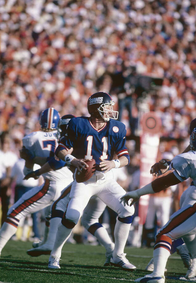 Phil Simms  Team:New York GiantsSuper Bowl Won: 21Overall Draft Pick: 7 (Round 1) Photo: Focus On Sport, Getty Images / 2007 Focus on Sport
