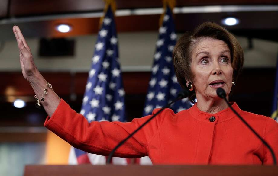 10.  House Minority Leader Nancy Pelosi, D-Calif., is the highest woman on the list. While her net worth could be anywhere between $1,046,071 and $174,947,989, it's much more likely the actual number is far from a meager million. The average net worth of the representative of California's 12th district, the city and county of San Francisco, is an estimated $87,997,030. Photo: Win McNamee, Getty Images
